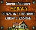 Penzion u Hrádku, Jižní Morava